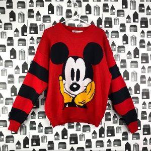 Disney | Mickey Mouse Knit Crewneck Sweater